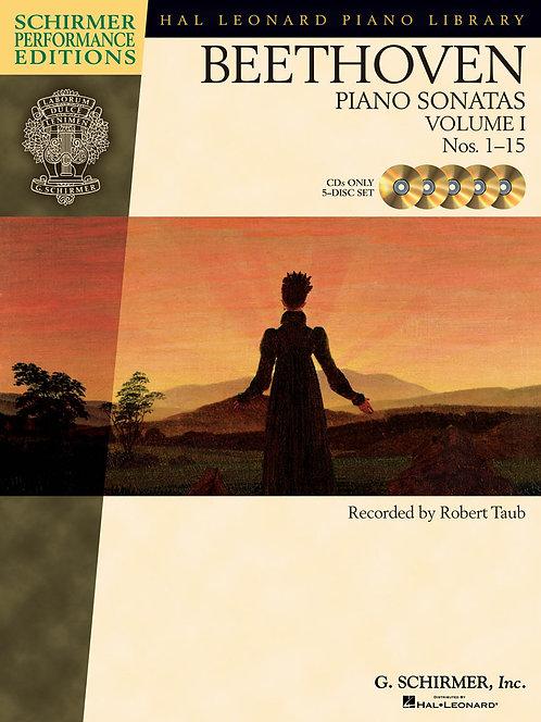 BEETHOVEN Piano Sonatas Vol. 1 Nos. 1-15 CDs