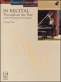In Recital Throughout the Year, Book 4, Volume 2
