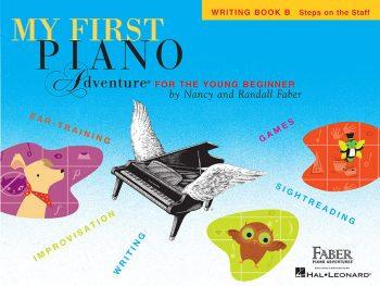 Libro de escritura B de Mis primeras aventuras con el piano