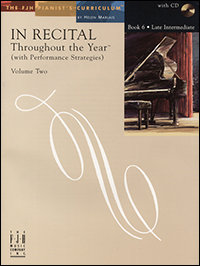 In Recital Throughout the Year, Book 6, Volume 2