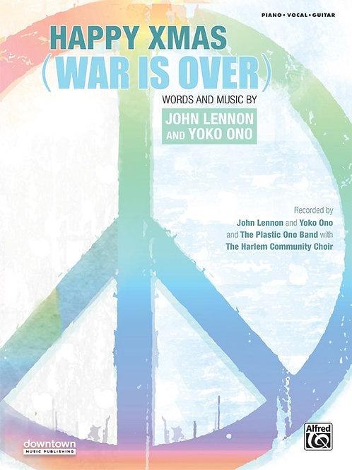 Happy Xmas War is Over - Piano/Vocal/Guitar Sheet