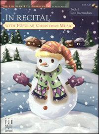 En Recital con Música Popular Navideña, Libro 6