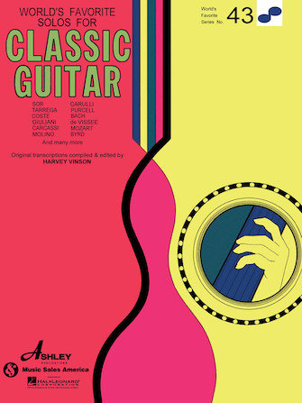 World's Favorite Solos for Classic Guitar No. 43