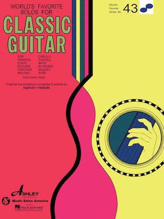 Solos favoritos del mundo para guitarra clásica n. ° 43
