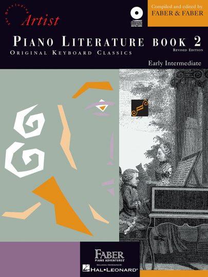 Libro de literatura para piano 2 con CD