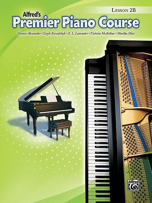 Curso de piano premier de Alfred 2B