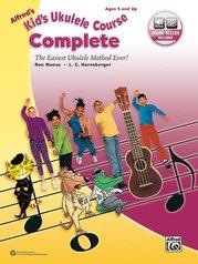Curso completo de ukelele infantil de Alfred con audio
