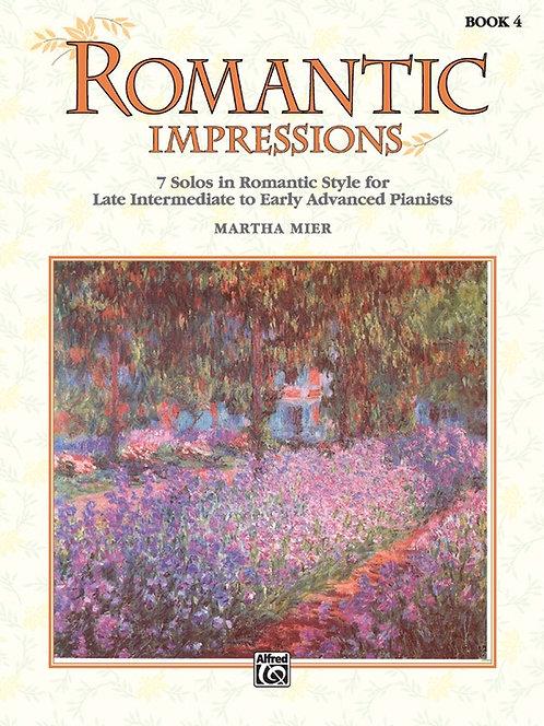 Impresiones románticas, libro 4
