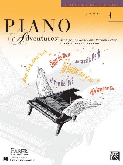 Piano Adventures 4 Popular Repertoire