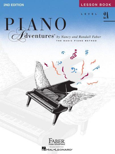 Piano Adventures 2 Una lección