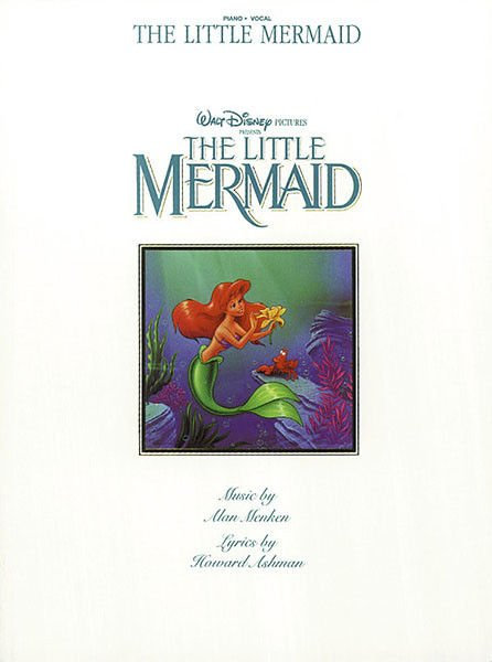 The Little Mermaid Piano Vocal songbook