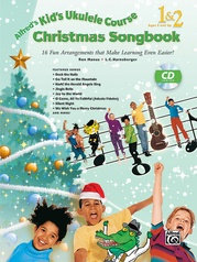 Alfred's Kid's Ukulele Course 1 & 2 Christmas Book & CD