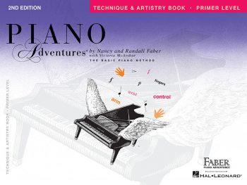 Técnicas básicas y arte de Piano Adventures