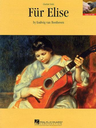 Für Elise Guitar Solo Sheet