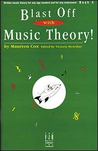 ¡Despegue con la teoría de la música! Libro 4