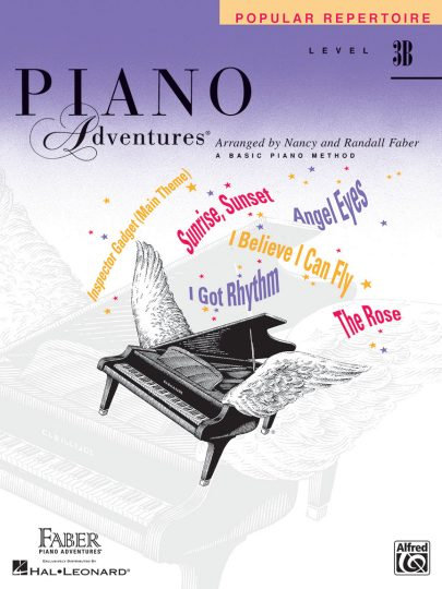 Piano Adventures 3B Popular Repertoire
