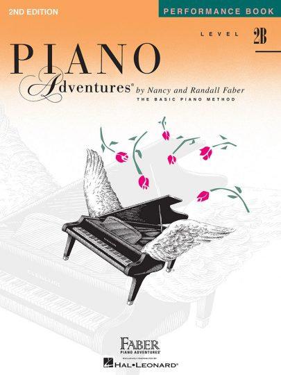 Interpretación de Piano Adventures 2B