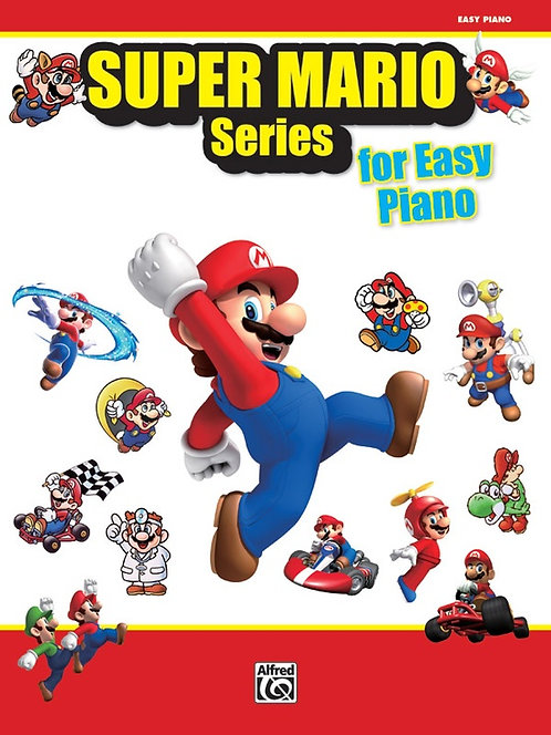 Serie Super Mario para piano fácil