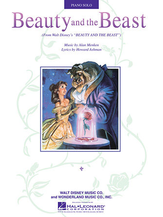 Beauty and the Beast Piano Solo Sheet
