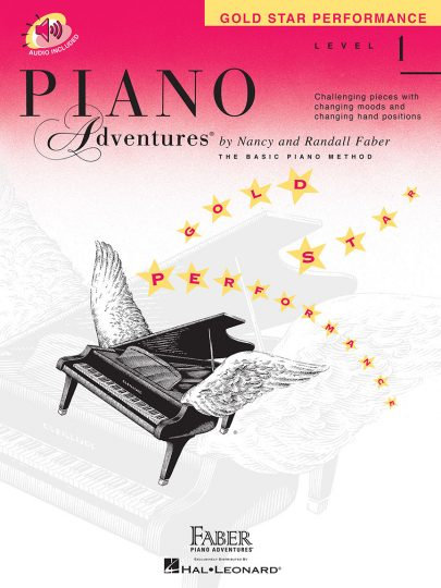 Piano Adventures 1 Gold Star Performance
