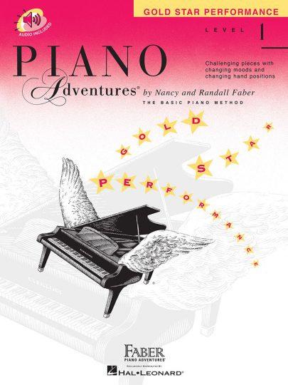 Piano Adventures 1 Interpretación con estrella de oro