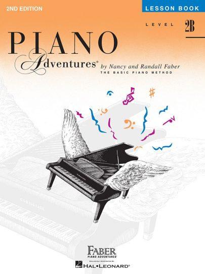 Lección de Piano Adventures 2B