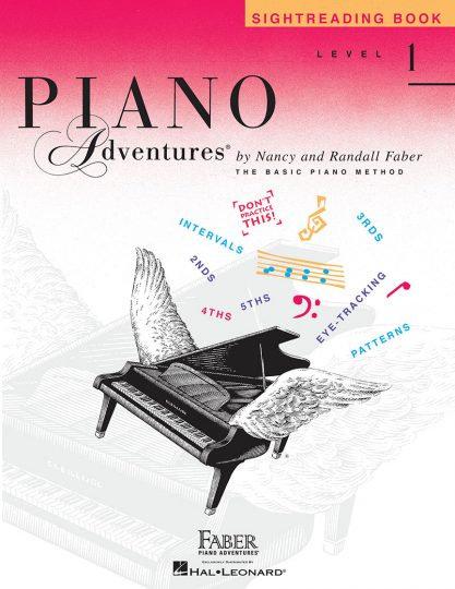 Piano Adventures 1 Lectura a primera vista