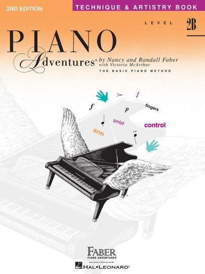 Piano Adventures 2B Technique & Artistry