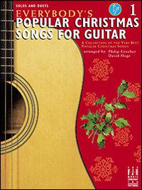 Canciones navideñas populares para guitarra, 1