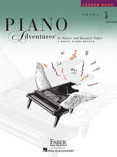 Piano Adventures 5 Lección