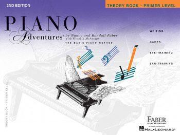 Teoría de la cartilla de Piano Adventures