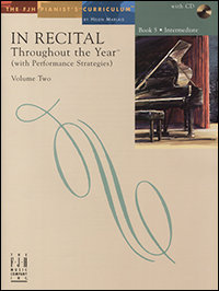In Recital Throughout the Year, Book 5, Volume 2