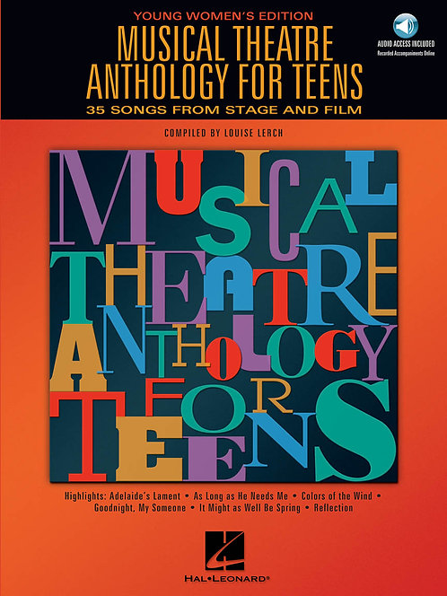 Musical Theatre Anthology for Teens, Young Women's