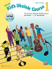 Alfred's Kid's Ukulele Course 1 Book & Audio