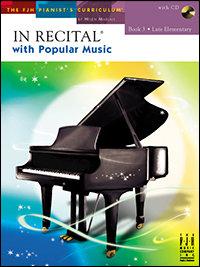 In Recital with Popular Music, Book 3