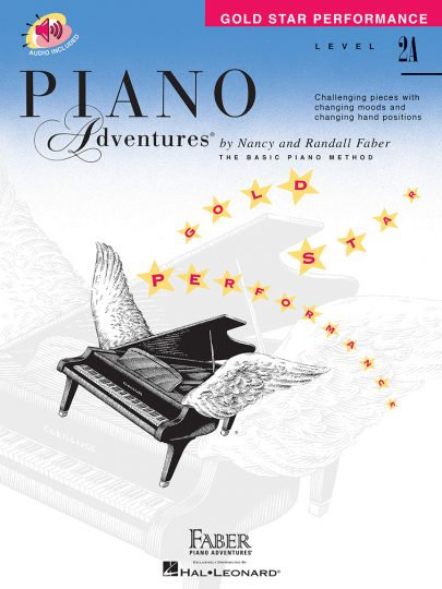 Piano Adventures 2A Gold Star Performance