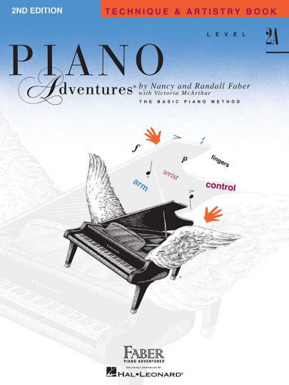 Piano Adventures 2A Técnica y arte