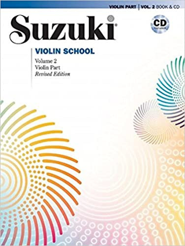 Suzuki Violin School Vol 2 Intl Edition Book/CD