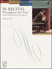 In Recital Throughout the Year, Book 5, Volume 1