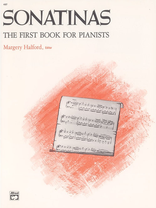 SONATINAS The First Book for Pianists