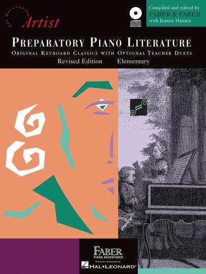 Literatura de piano preparatoria (con CD)