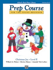 Alfred's Basic Prep Course, Christmas Joy, Level E