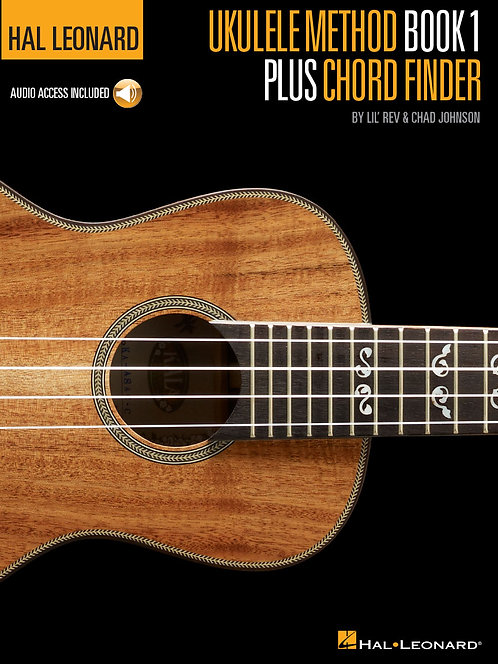 Hal Leonard Ukulele Method Book 1 + Chord Finder