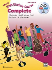 Alfred's Kid's Ukulele Course Complete w/ DVD