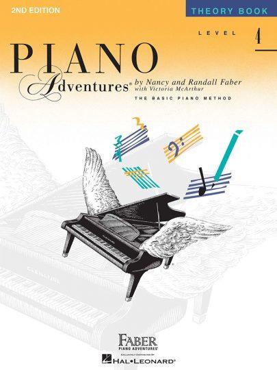 Piano Adventures 4 Teoría