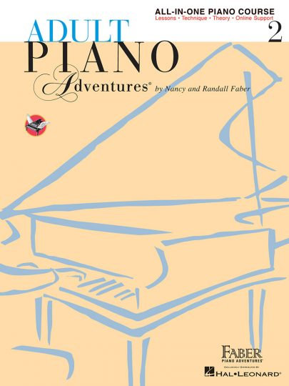 Adult Piano Adventures 2 All-in-One
