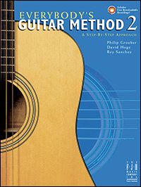 Everybody's Guitar Method, Book 2 with CD