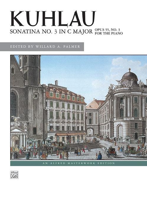 KUHLAU, Sonatina No. 3 en C Maj, Op. 55, No. 3