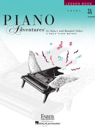 Piano Adventures 3A Lección