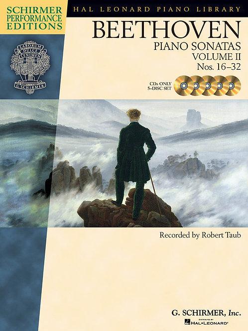 BEETHOVEN Piano Sonatas Vol. 2 Nos. 16-32 CDs
